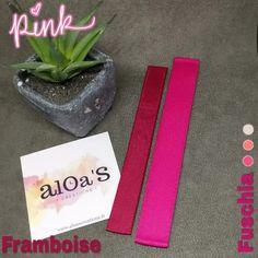 Bracelet de montre Poiray gros grain strié - Aloa'S créations Planter Pots, Pink, Creations, Bracelet Making, Grosgrain, Bracelet Watch, Pink Hair, Roses