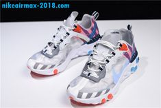 2018 New Parra x Nike React Element 87 For Sale AQ3057-100 Nike Air Max 0ac4e2874