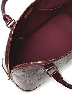 8cd18d2db459 Rouge Fauviste Monogram Vernis Alma PM from Vintage Louis Vuitton  Madison  Avenue Couture on Gilt