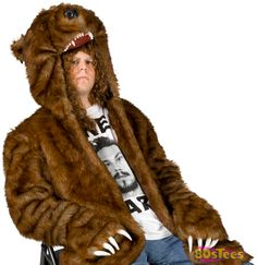 """If you've got a tight butthole, then you need a bear coat."" Workaholics Bear Coat. This is why I'm broke..."