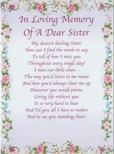 "Happy Birthday in Heaven September ""SiS"" miss you so much. Love Always xox Loss Of A Sister, Prayers For Sister, I Miss My Sister, Sister Poems, Sister Birthday Quotes, Dear Sister, Sister Prayer, Birthday Poems, Birthday Wishes"