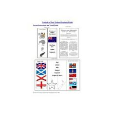 This lapbook will help guide and assist you in understanding the New Zealand flag and other symbols of our country.
