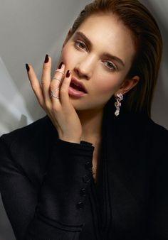 Lily James - Vanity Fair August  - Cuneyt Akeroglu - 2015 www.lisaeldridge.com…