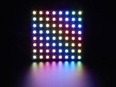 16 sixteen addressable WS2812 5050 RGB LEDs Adafruit NeoPixel circle ring clone