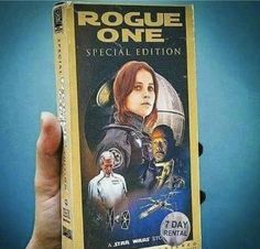 Rogue One Special Edition now on VHS!