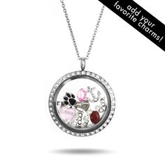 Jewelry - CZ Round Build A Charm Floating Locket | Get paid up to 9.2% Cashback when you shop online at EvesAddiction.com with your DubLi membership. Not a member? Sign up for FREE at www.downrightdealz.net!