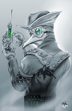 steampunkro: Love this sketch of http://ift.tt/1E036Lq