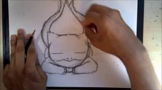 Dremico's Pokemon Art:  Pokemon #001 Bulbasaur (How to Draw  Bulbasaur S...