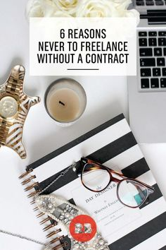 A must-read for artists, designers, writers, and other freelancers: 6 reasons never to freelance without a contract. Avoid unnecessary pitfalls, stress, and expenses by creating a contract before working with new clients. Using a contract can help you build better client-relationships, get you work you enjoy doing, and ensure that you're paid fairly.