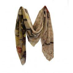 Modern Love Silk Georgette scarf in Oriental Garden Modern Love, Boston, Oriental, Silk, Garden, Accessories, Women, Fashion, Moda