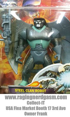 1995 Disney's Gargoyles Steel Clan Robot by Kenner  (1) check out our flickr at http://www.flickr.com/photos/ragingnerdgasm/sets/72157630097771192/