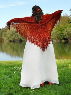 Ravelry: MaggieD's September - Bridal Shawl