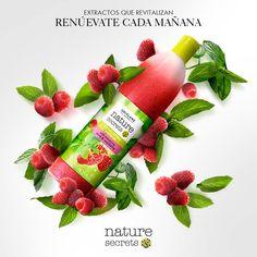 ¡El energizante aroma de la #frambuesa mezclado con la frescura de la #menta…