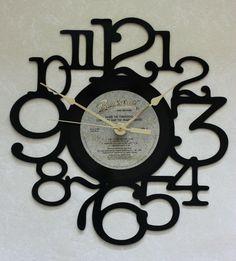 My eBay Active Vinyl Record Clock, Vinyl Records, Lp Vinyl, Tom Petty Vinyl, Clock With Seconds, Grandkids Picture Frames, Music Room Art, Christopher Cross, Thompson Twins