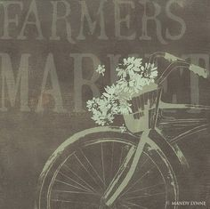 farmers markets are the best thing ever.  I wonder how I could use this print...  hmmmm