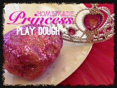Homemade Princess Play Dough