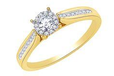 0.16 cttw Round-Cut-Diamond 9.75 inches 18K Yellow Gold identification-bracelets Size IJ  SI
