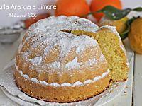 Torta Arancia e Limone,ricetta - Dolcissima Stefy