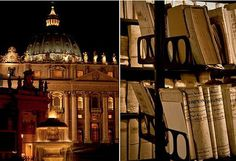 The Vatican Archives...one of the most exclusive archives in the world, one wonders what exactly can be found on its shelves.  Certainly new materials will be added with Pope Benedict XVI becoming the first pope to resign in over six centuries!