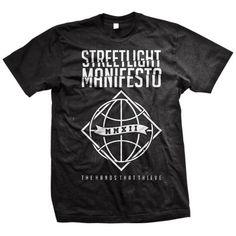 Streetlight Manifesto- The Hands That Thieve  on a black shirt