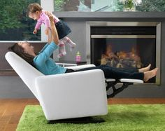 Grano nursing chair from Monte Design   it glides & reclines!
