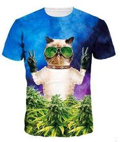 Latest styles Kitten Invasion T-Shirt kittens overlords spreading fear destruction lasers Cat 3D T shirt Women Men fashion tees