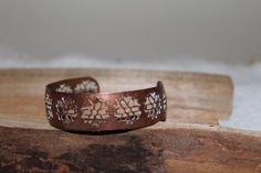 Treasury Vintage Copper Cuff Bangle Bracelet by TreasuresFromUs, $19.00