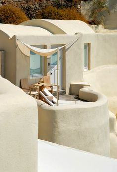 Tour Mystique, a Luxury Collection Hotel, Santorini with our photo gallery. Our Santorini hotel photos will show you accommodations, public spaces & more. Paper Mulberry, Luxury Collection Hotels, Luxury Hotels, Driftwood Furniture, Santorini Greece, Mykonos, Architecture Design, Beautiful Places, Beautiful Scenery