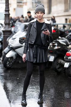 Street Style from Paris Fashion Week at the Fall 2014 shows