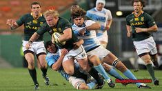 is a common sport in South Africa, the national rugby team is called the Springboks. Argentina Rugby, Watch Live Match, South Africa Rugby, Watch Rugby, Rugby Championship, 24. August, Live Matches, Rugby World Cup, Pumas
