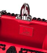 Detail - Sofia Clutch in Red.