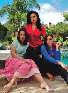 Crystal Chappell And Jessica Leccia | Nadia Bjorlin, Crystal Chappell & Jessica Leccia Cover the Curve July ...