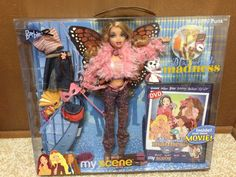 Barbie My Scene Masquerade Madness Kennedy Doll Root Eyelash Butterfly Punk Rare Barbie 90s, New Barbie Dolls, Childhood Toys, Childhood Memories, Bratz Doll Outfits, Bratz Girls, Barbie Collection, Old Toys, Antique Dolls