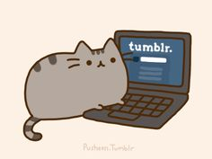 The Gadry Blog!: Es tierno, es adorable, es el Pusheen Cat =^w^=