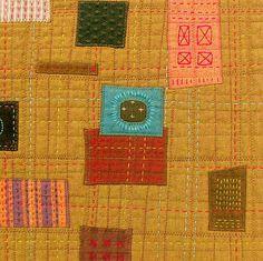 Work Quilt - Detail - Block 6