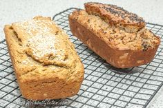 Gluten Free Easy Buckwheat Bread – Cooking Without Gluten Buckwheat Bread, Bread Substitute, Bread Oven, Cooking Recipes, Healthy Recipes, Healthy Food, Banana Bread Recipes, Sans Gluten, Sugar Free