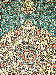 Middle Eastern Then there are those without any animals, only beautiful rug like patterns.
