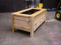 pallet crafts | Pallet Planter Box - by Ryan Fenters @ LumberJocks.com ~ woodworking ...