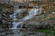 Flint Hills, Kansas -  Waterfall