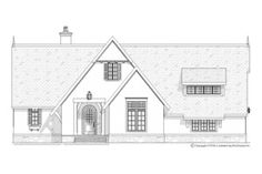 European Exterior - Front Elevation Plan #901-93 - Houseplans.com