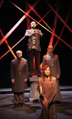 """From Pendragon Theatre's production of """"Oedipus""""."""