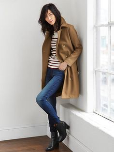 Wool trench Product Image