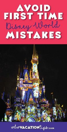 WOW!!! Who knew there was so much that went into visiting Disney World! This is the perfect list for WDW first timers! I wish I had this list for my first trip to Disney World. I definitely made a few of these mistakes.