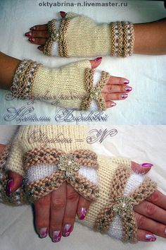Fashion and Lifestyle Crochet Gloves Pattern, Crochet Patterns, Fingerless Gloves Knitted, Beaded Cross Stitch, Lace Gloves, Wrist Warmers, Knitting Accessories, Lace Knitting, Lifestyle