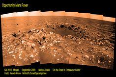 Nereus Crater on Mars