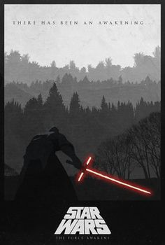 You Can Feel The Force Awaken With These 'Star Wars' Fan Posters