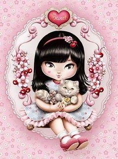 Cat girl ~ Jolie Tilibra