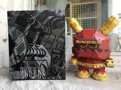 "Kozik's Mecha Dunny is one tough looking 7"" Dunny! The rustic detailing is truly amazing! Take this bad boy home for 10% off retail price as part of our Daily Deal promotion! What deal will be next? stay tuned   #mecha #dunny #mechadunny #kidrobot #arttoys #arttoy #vinyltoy #vinyltoys #designertoys #desgnertoy #designer #designers #art #vinyl #toy #toys #collectibles #collectible #markham #mindzai #toronto #robot #machine #kozik"
