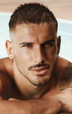 Beautiful Men Faces, Beautiful Boys, Gorgeous Men, Portrait Photography Men, Handsome Faces, Dream Guy, Facial Hair, Man Crush, Pretty Face