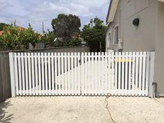 gates/swing/Settler Picket Double Gate White 35mm gaps